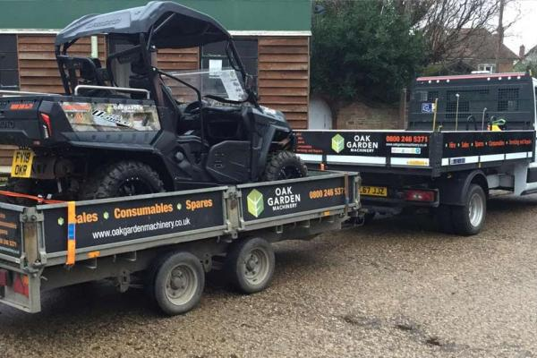 Quadzilla buggy hire for shooting event in Watlington, Oxfordshire