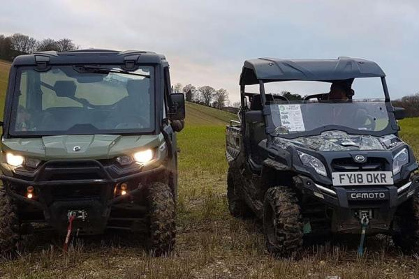 Quadzilla and Can-Am buggies compared at demo day in Oxfordshire