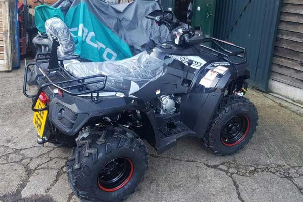 New Quadzilla Quad bike sold to customer in Swindon, Wiltshire