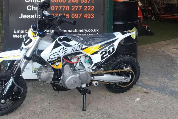 Slam 50cc pit bike sold to customer in Milton Keynes, Buckinghamshire