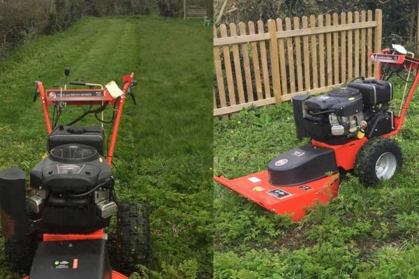 DR Brush Mower Hire for large garden in Haddenham, Buckinghamshire