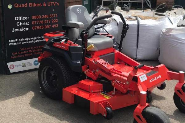 Ariens Zero Turn Mower sold to maintain sports facility in Buckinghamshire