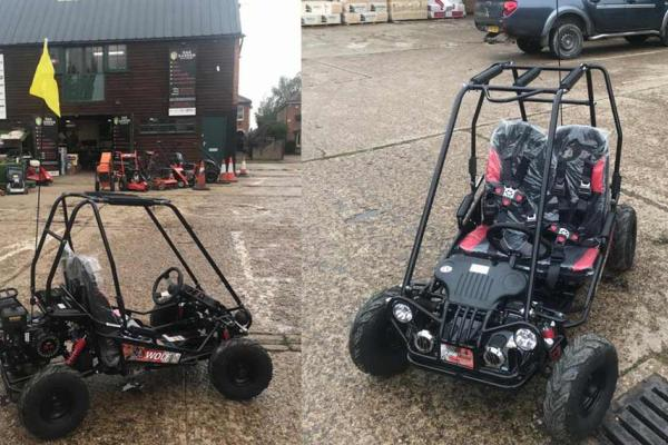 Junior off-road buggy sold to customer in Milton Keynes, Buckinghamshire