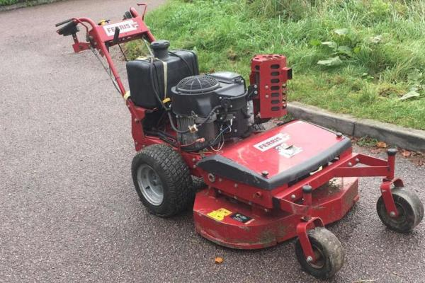 Ferris brush/flail mower hired for heavy duty cutting in Aylesbury, Bucks