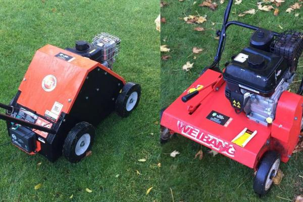 Lawn Scarifier and Aerator hired for winter lawn preparation in Oxfordshire