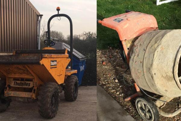 Construction/Building Machinery and Tools for hire - Bucks & Oxon