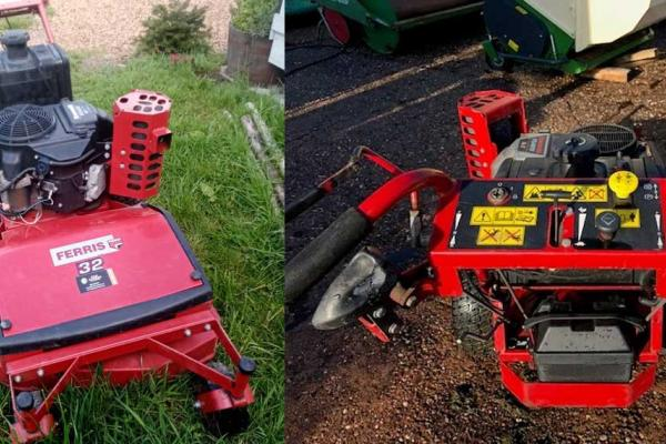 Ferris 32 inch commercial mower available for hire across Oxfordshire and Buckinghamshire