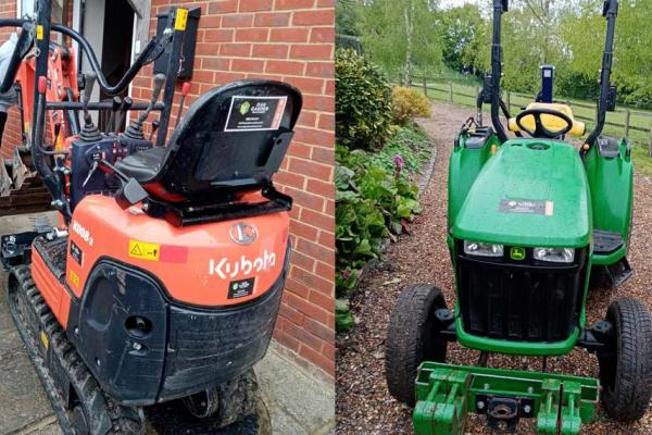 Flexible machinery hire for landscaping, construction and farming