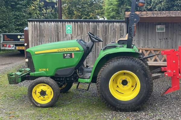 Tractor and log splitter hire package - across Oxfordshire and Buckinghamshire